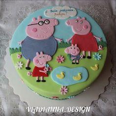 свинка пеппа картинки торт - Поиск в Google