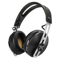 Sennheiser MOMENTUM wireless Headphones with integrated microphone.  If only there was a vegan version...