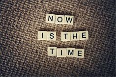 I have made a pact with myself every year for the last 6 years that 'this was the year' that I was going to lose weight, get fit and be healthy. I've wasted too much time talking about it. it's time for action. Now is the time!