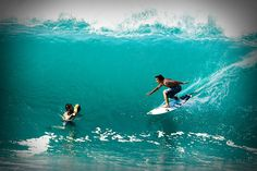 surfing, underwater surf shot
