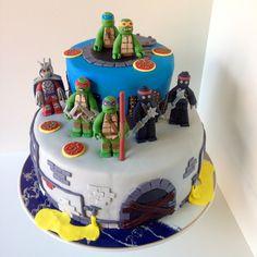 LEGO ninja turtles cake