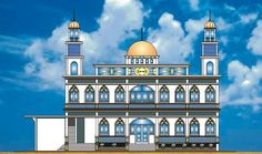 masjid buatanku untuk semuanya