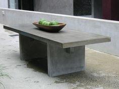 30 best cement tables images cement table concrete furniture rh pinterest com