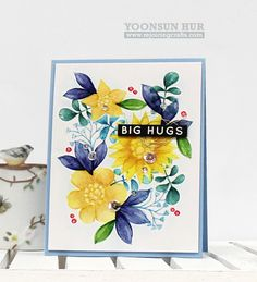 WOW Gorgeous card created by Yoonsun Hur for the Simon Says Stamp blog.