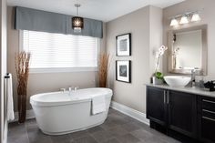 Tully Model Home - master ensuite