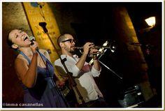 @SSheiman and @raynaldcolom, at Torre-Ramona (Subirats) July 28, 2012 by Imma Casanellas #jazz #photography
