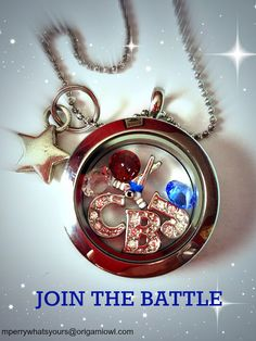 A hockey lovers locket! This designer is a Columbus Blue Jackets Fan! Create your own and show your Hockey Pride!