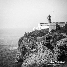 """Black and white photography poster """"Lighthouse"""". For cool home decoration in black white! Click the link to shop online! #poster #artprint #travelprint Unique Wall Decor, Unique Art, Magical Home, Shape Posters, New Perspective, Black And White Photography, Lighthouse, Black White, Art Prints"""