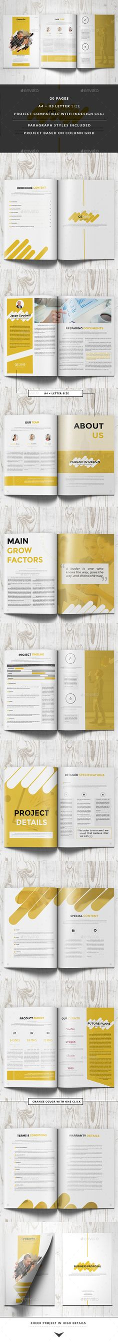 Paquarito Business Proposal Business Project Proposal Template V280