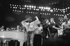 Jul 13, 1985: Live Aid concert  Wham; U2; McCartney; Queen