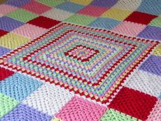 Not Just Another Granny Square Blanket