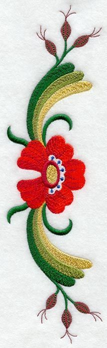 traditional scandinavian embroidery designs More