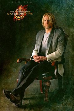 Haymitch, in promotional pic for the Hunger Games