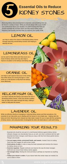 Top 5 Essential Oils to Reduce Kidney Stones - Organic Aromas Doterra, Food For Kidney Health, Kidney Infection, Allergy Remedies, Home Remedies, Natural Remedies, Young Living Essential Oils, Essential Oil For Kidney Stones, Top