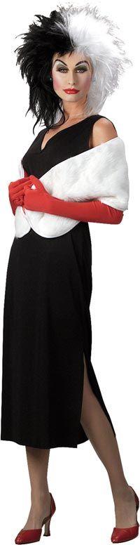 Click Image Above To Buy: Cruella De Vil Costume - Disney Costumes - carnaval kostuum idee - voor meer ideeën check www.gratisweetjes.nl