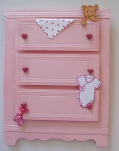 baby dresser card from SU