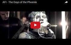 Watch: AFI - The Days of the Phoenix See lyrics here: http://afilyric.blogspot.com/2010/03/days-of-phoenix-afi-lyrics.html #lyricsdome