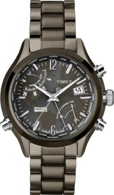 Timex Intelligent Quartz T2N946 Mens World Time Watch by Timex Intelligent Quartz -- Awesome products selected by Anna Churchill
