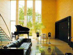 farbgestaltung wohnzimmer wandgestaltung wanddesign gelbe wand