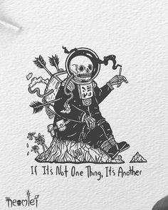Drawing Doodles Sketches Choose the best way to end your journey Blackwork, Dark Drawings, Skull Drawings, Arte Dope, Skeleton Art, Desenho Tattoo, Daily Drawing, Skull Art, Aesthetic Art