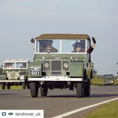 #Repost @landrover_uk with @repostapp.  The #LandRover heritage parade at #GoodwoodRevival with over 50 pre-1966 vehicles in attendance. #defender #hue #legend #caroftheday #picoftheday #hibernot #landroverdefender #defenderlove by landroverstaffs #Repost @landrover_uk with @repostapp.  The #LandRover heritage parade at #GoodwoodRevival with over 50 pre-1966 vehicles in attendance. #defender #hue #legend #caroftheday #picoftheday #hibernot #landroverdefender #defenderlove