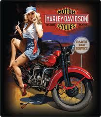 My goal. Sassy, sexy woman who can work on her own motorcycle!