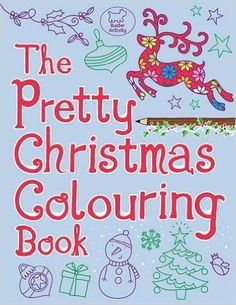 The Pretty Christmas Colouring Book (Buster Activity): Amazon.co.uk: Jeannine…