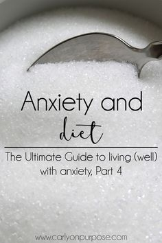 Anxiety SUCKS! Everything we put into our bodies affects the way our brains work. Could making changes to your diet help with you anxiety? #anxietyremedies