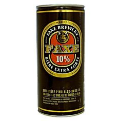 Faxe # strong beer # 10% # 1Liter can