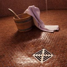 Cork tiles are durable enough to use in showers and give a warm feel to your bathroom.