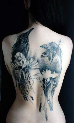 tatuagens de corvo 05