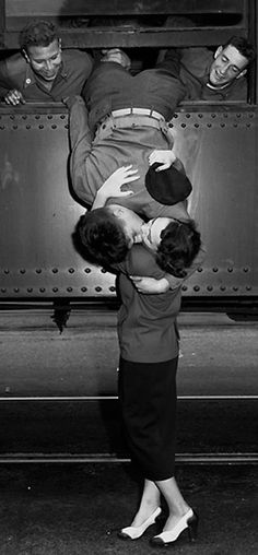 Korean War Goodbye Kiss