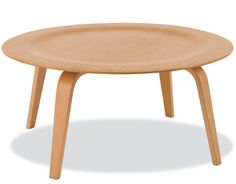 eames molded plywood coffee table  Design Charles & Ray Eames®, 1946  Maple plywood    $949  Made by Herman Miller®
