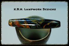 K.R.H. Lampwork Designs ~ Lampwork Beads/Reduction & Striking Glass Twistie