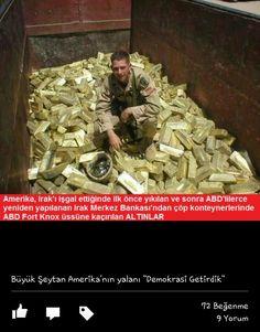 ABD Irak'a Demirkrasi getirmenin karşılığını gmtürürken