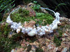Beachy seashell tiara haute couture by calla318 on Etsy, $65.00