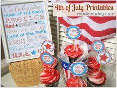 Free #Patriotic 4th of July Printables