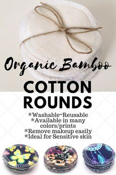 I love how these cotton rounds are reusable and washable. Would be perfect for beauty lovers who live naturally!  #ad#cottonrounds#reusable#beautytools#organic#bamboo#makeupremover