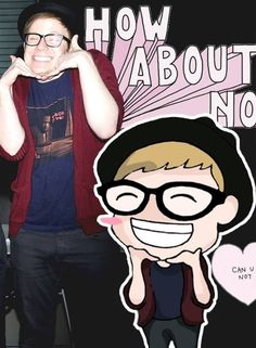 Patrick Stump :D How about no wait...how about yes....he's waaayyy too freaking cute :)