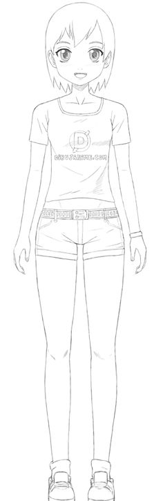 como aprender a dibujar mujeres anime y manga 11