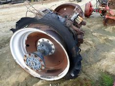 New Holland 8670 tractor salvaged for used parts. This unit is available at All States Ag Parts in Downing, WI. Call 877-530-1010 parts. Unit ID#: EQ-24430. The photo depicts the equipment in the condition it arrived at our salvage yard. Parts shown may or may not still be available. http://www.TractorPartsASAP.com