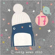dottywrenstudio: advent calendar...day 17