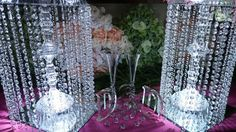 Im making low budget wedding chandelier stands for just 1550 each dollar tree diy lighted chandelier youtube aloadofball Gallery