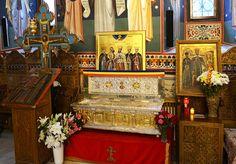 Racla cu Moaştele Sfântului Domnitor Martir Constantin Brâncoveanu