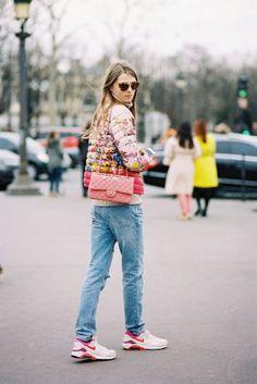 Paris Fashion Week AW 2014....Caroline