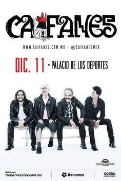 Caifanes ofrecerá un ritual musical  en la Ciudad de México