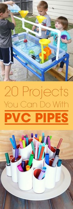 20 Projects You Can Do With PVC Pipes