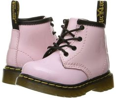 Dr. Martens Kid's Collection - Brooklee B 4-Eye Lace Boot Kids Shoes