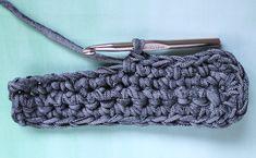 The Craft Patch: T-Shirt Yarn Crochet Bag (Free Pattern)