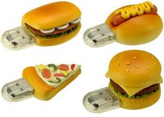 hamburgers clé usb, avr 2010